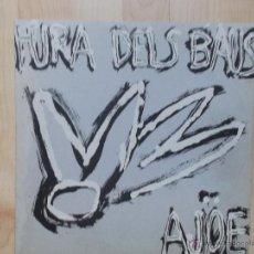 Discos de vinilo: FURA DELS BAUS - AJOE - DRO - 1986 -. Lote 45595028