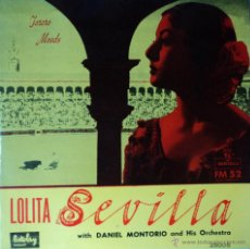 Discos de vinilo: LOLITA SEVILLA - TORERO MOODS - 1.ª EDICIÓN DE FRANCIA. Lote 45597175