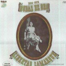 Disques de vinyle: LIBERTAD LAMARQUE. BODAS DE ORO. 3LP. Lote 45613117