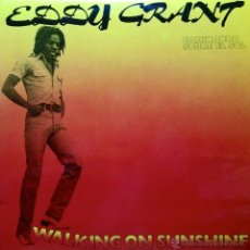 Discos de vinilo: EDDY GRANT LP 33 RPM WALKING ON SHUNSHINE. Lote 45613950