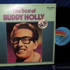 Discos de vinilo: BUDDY HOLLY - THE BEST OF - LP MCA 1978 - EXCELENTE ESTADO -RECOPILATORIO CON 16 CANCIONES. Lote 45614292