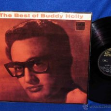 Discos de vinilo: BUDDY HOLLY - THE BEST OF BUDDY HOLLY - VERY RARE - LP 19?? - MUY BUSCADA. Lote 45615953