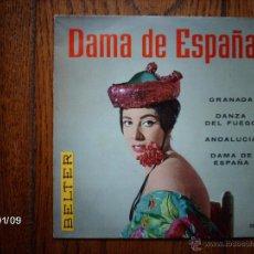 Discos de vinilo: ORQUESTA SINFONICA DEL AIRE - EMMA MALERAS Y SU CONJUNTO - DAMA DE ESPAÑA + 3. Lote 45619127