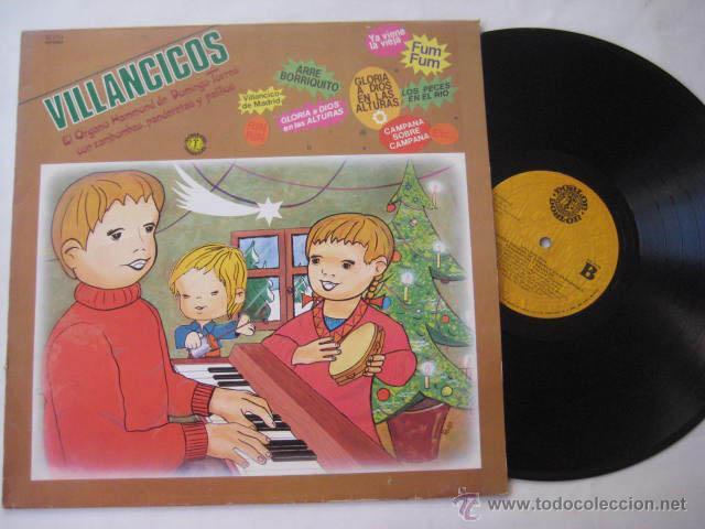 EL ÓRGANO HAMMOND DE DOMINGO TORRES CON ZAMBOMBAS, PANDERETAS Y PALILLOS (Música - Discos - LPs Vinilo - Música Infantil)