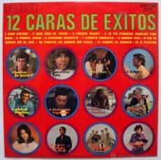 Discos de vinilo: VVAA 12 CARAS DE EXITOS - THE PIPE, PROYECTO A, LOS RELAMPAGOS, ETC (LP 1970) (((ESCUCHA))). Lote 45623976