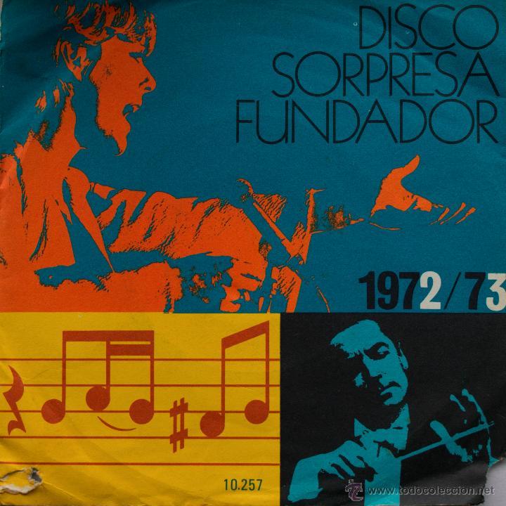 DISCO SORPRESA FUNDADOR 10.257. LOS PEKENIKES. SOL Y SOMBRA/TABASCO. (Música - Discos - Singles Vinilo - Solistas Españoles de los 50 y 60)