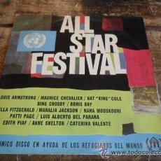 Discos de vinilo: ALL STAR FESTIVAL. Lote 45629142