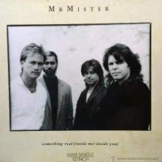 Discos de vinilo: MR MISTER SOMETHING REAL (INSIDE ME/INSIDE YOU). Lote 45631426