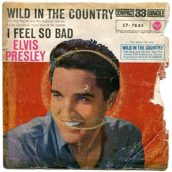ELVIS PRESLEY - WILD IN THE COUNTRY - SG SPAIN 1961 - RCA 37-7880 (Música - Discos - Singles Vinilo - Rock & Roll)