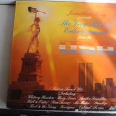 Discos de vinilo: THE VERY BEST OF ENTERTAINMENT FROM THE USA. Lote 45641040