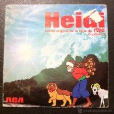 Discos de vinilo: SINGLE HEIDI - CAPÍTULO 5 - BANDA ORIGINAL DE LA SERIE DE RTVE - RCA 1975.. Lote 45645706