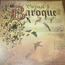 Discos de vinilo: BAROQUE SWINGLE II. Lote 45646051