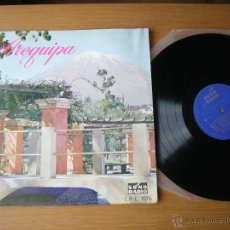 Discos de vinilo: RARE LP PERU AREQUIPA DAVALOS LATIN ORQUESTA SONO RADIO LUCHO GATICA PANCHOS CHAVEZ ERRANTES LARA. Lote 45646602