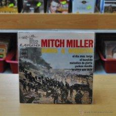 Discos de vinilo: MITCH MILLER COROS Y ORQUESTA - EL DIA MAS LARGO + 3 - BANDA SONORA ORIGINAL DE LA PELICULA - EP. Lote 45646904