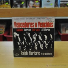 Discos de vinilo: RALPH MARTERIE Y SU ORQUESTA - VENCEDORES O VENCIDOS - CUIDAME + 3 - EP. Lote 45646996