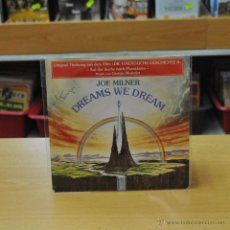 Discos de vinilo: JOE MILNER - DREAMS WE DREAM / THE NEVERENDING STORY - SINGLE. Lote 45647141