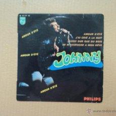 Discos de vinilo: JOHNNY - AMOUR D'ETE. Lote 45647227