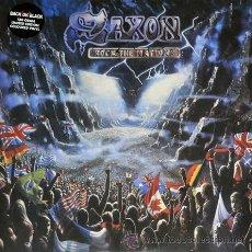Discos de vinilo: SAXON - ROCK THE NATIONS,LP. Lote 45648666