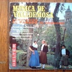 Discos de vinilo: AGRUPACION EL PARADO DE VALLDEMOSA - MUSICA DE VALLDEMOSA - PARADO DE VALLDEMOSA + 4. Lote 45649598