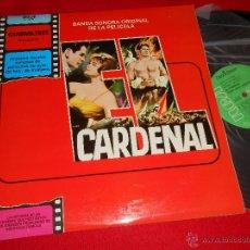 Discos de vinilo: CARDENAL JEROME MOROSS BSO OST LP 1981 RCA PROMO EDICION ESPAÑOLA SPAIN EX. Lote 45650543