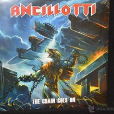 Discos de vinilo: ANCILLOTTI - THE CHAIN GOES ON - LP. Lote 45651318