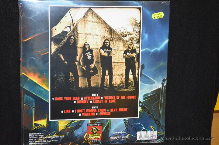 Discos de vinilo: ANCILLOTTI - THE CHAIN GOES ON - LP - Foto 2 - 45651318