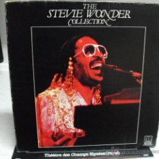 Discos de vinilo: ESTUCHE CON 4 DISCOS LP DE VINILO THE STEVIE WONDER COLLECTION, DISTRIBUIDO POR BELTER. Lote 45651446