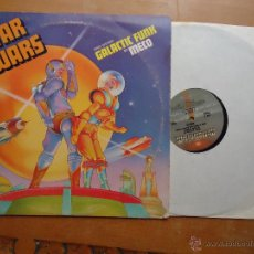 Discos de vinilo: DISCO GRANDE VINILO RARO - STAR WARS GALACTIC FUNK BY MECO 1977 CALIFORNIA. Lote 182245553