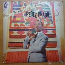Discos de vinilo: DISCO GRANDE VINILO RARO - PEREZ PRADO - OUR MAN IN LATIN AMERICA RCA VICTOR 1963 PRINTED USA , . Lote 45651588