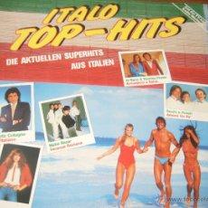 Discos de vinilo: ITALO TOP-HITS . Lote 45653140