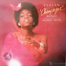 Discos de vinilo: EVELYN CHAMPAGNE KING - MUSIC BOX. Lote 45656582