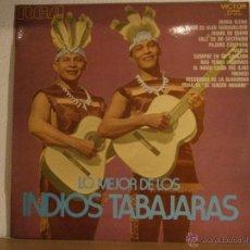 Discos de vinilo: LO MEJOR DE LOS INDIOS TABAJARAS.. Lote 45658529