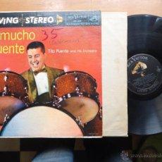 Discos de vinilo: DISCO GRANDE VINILO RARO - MUCHO PUENTE , TITO PUENTE AND HIS ORCHESTRA, RCA VICTOR PINTED USA. Lote 65431874