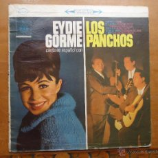 Discos de vinilo: DISCO GRANDE VINILO RARO - EYDIE GORME CANTA EN ESPAÑOL CON LOS PANCHOS - FABRICADO COLOMBIA. Lote 45662775