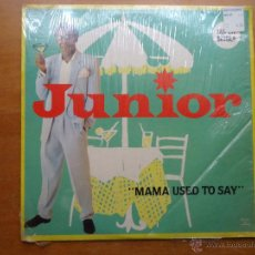 Discos de vinilo: DISCO GRANDE VINILO RARO - SUPER SINGLE JUNIRO MAMA USED TO SAY FABRICADO USA. Lote 45662952