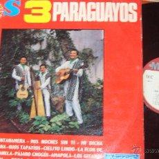 Discos de vinilo: LOS 3 PARAGUAYOS. Lote 45669411