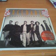 Discos de vinilo: MOCEDADES - SOBREVIREMOS . DISCO VINILO . LP. Lote 45671783