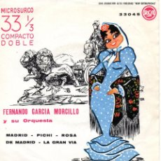 Discos de vinilo: FERNANDO GARCIA MORCILLO Y SU ORQUESTA, EP, MADRID + 3, 1963. Lote 45671997