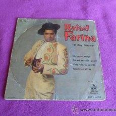 Discos de vinilo: RAFAEL FARINA - EL REY GITANO - 1961. Lote 45672672