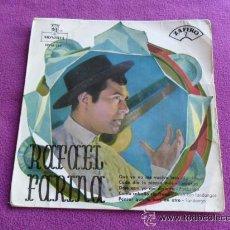 Discos de vinilo: RAFAEL FARINA - QUE YA NO ME VUELVO LOCO - ZAFIRO - 1959. Lote 45673295