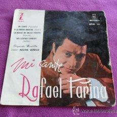 Discos de vinilo: RAFAEL FARINA - MI CANTE - 1959. Lote 45673549