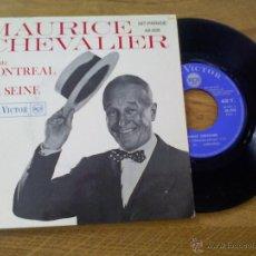 Discos de vinilo: MAURICE CHEVALIER. CHANTE MONTREAL. EDICION FRANCESA. Lote 45675662
