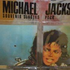 Discos de vinilo: MICHAEL JACKSON - SOUVENIR SINGLES PACK - EDICION LIMITADA - 060 - 5 SINGLES MAS LIBRETO - RAREZA. Lote 45675735