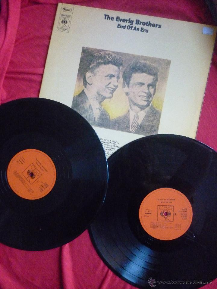 LP DOBLE (2 DISCOS) - THE EVERLY BROTHERS (END OF AN ERA) - CBS, 1986 (Música - Discos - LP Vinilo - Rock & Roll)
