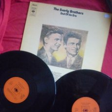Discos de vinilo: LP DOBLE (2 DISCOS) - THE EVERLY BROTHERS (END OF AN ERA) - CBS, 1986. Lote 45675871