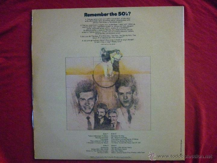 Discos de vinilo: LP DOBLE (2 DISCOS) - THE EVERLY BROTHERS (END OF AN ERA) - CBS, 1986 - Foto 4 - 45675871