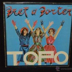 Discos de vinilo: TOPO - PRET A PORTER - LP. Lote 45675918