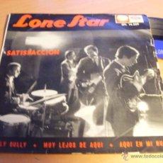 Discos de vinilo: LONE STAR ( SATISFACCION (SATISFACTION) +3) EP ESPAÑA 1965 COVER ROLLING STONES (EP10). Lote 45678005