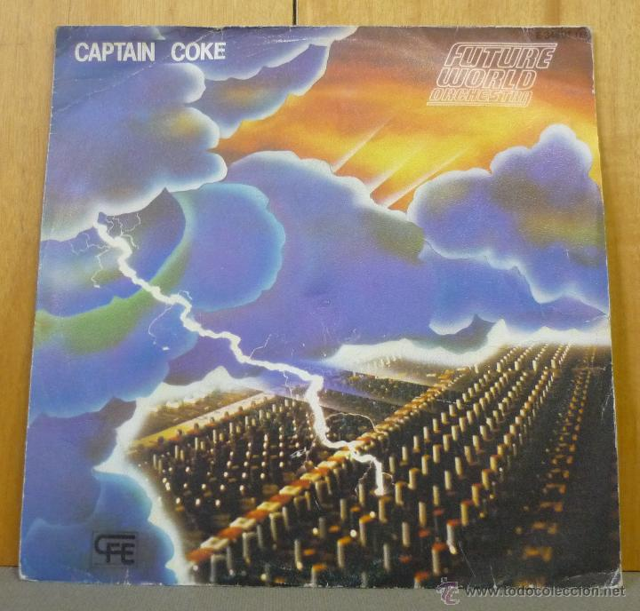 FUTURE WORLD ORCHESTRA - CAPTAIN COKE / DAWN - SINGLE 1983 - P (Música - Discos de Vinilo - Singles - Pop - Rock Extranjero de los 80)