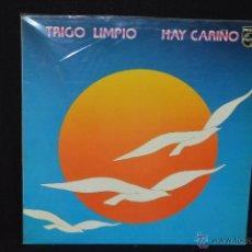 Discos de vinilo: TRIGO LIMPIO - HAY CARIÑO - LP. Lote 45689927